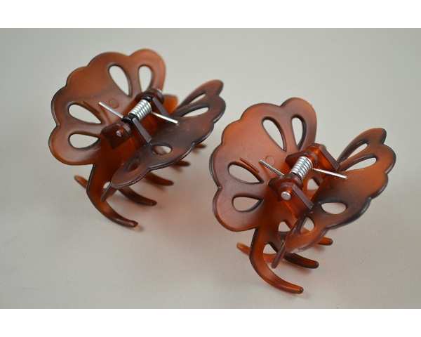 Card of 2 torte flower design clamps