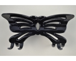 11cm butterfly clamp in black