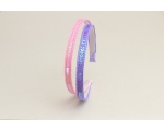 2 sequin covered alice bands per card. In pink & purple & pink & white