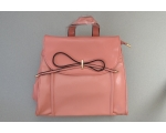 **WAS £11.00** Matt finish with bow detail. Longer strap included. 28x35x11cm (LxHxW)