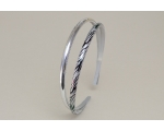 12 plain silver & 12 zebra print alice bands. Uncarded